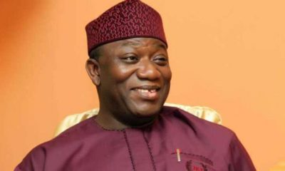 Gov. Fayemi Presents Cheque Of N100m For Payment Of Pensioners' Gratuities