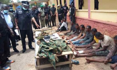 Armed Robbers Posing As Soldiers Paraded