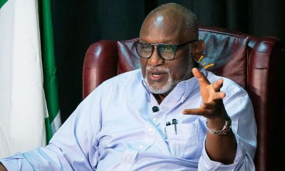 Akeredolu Orders 7-Day Ultimatum For Surrender Of Arms In Wrong Hand