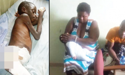 Child Maid Baptised With Hot Water For Licking Milk