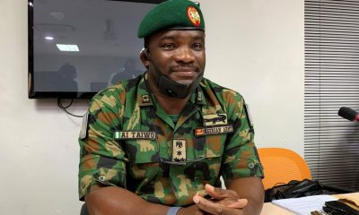 Army Went To Lekki Tollgate With Blank And Live Ammunition - Brig.-Gen