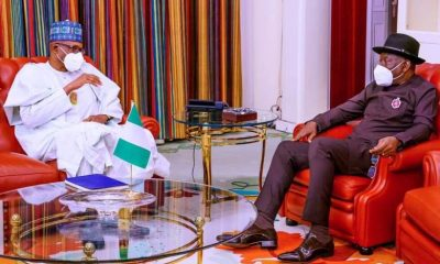 Jonathan Updates Buhari On Political Development In The Gambia