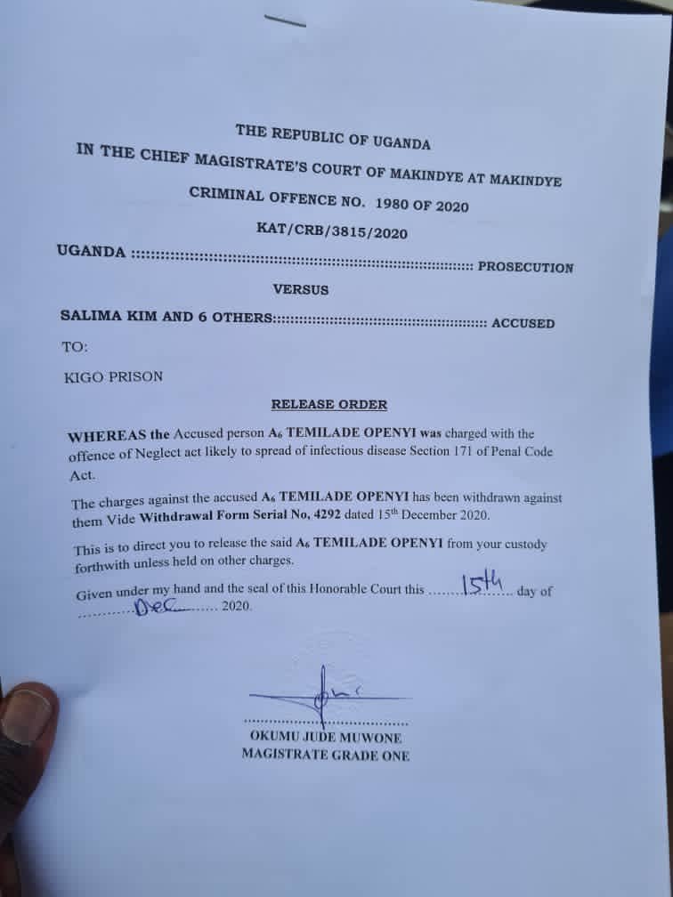BREAKING: Ugandan Govt Bows To Pressure, Frees Omah Lay And Tems