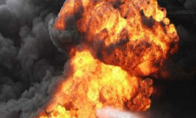 Fire Guts Petrol Station In Nasarawa State