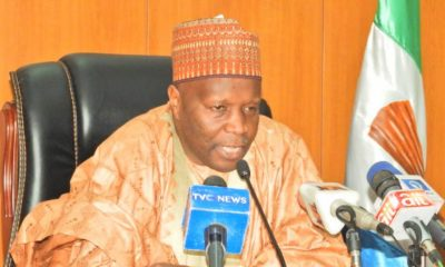 Gov. Yahaya Swears-In 11 LG Chairmen, Charges Them On Security
