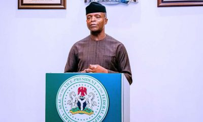 Osinbajo Says Optimistic Nigeria Will Surmount Problems