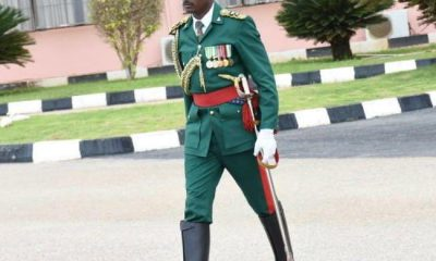 Dodo emerges Buhari's New Aide-De-Camp ADC