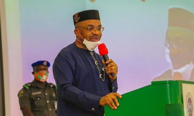 Gov Emmanuel Swears In New Commissioners, Ask For Diligence
