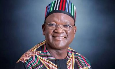 2023: I Am Not Nursing Presidential Ambition – Ortom
