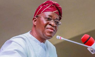 Osun Gov. Imposes curfew, Orders Work From Home For staff Below GL12