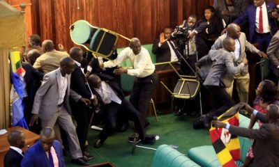 Pandemonium As Fight Breaks Out Between Lawmakers
