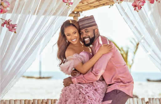 Banky W And Adesua Announce The Arrival Of Their Newborn Baby