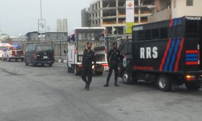 Tension As #EndSARS Protesters Vow To Continue Their Demonstration