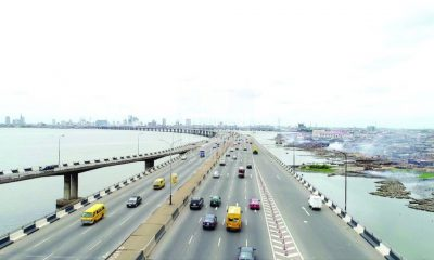 Finally, Third Mainland Bridge Now Opened After 7 Months Of Repair