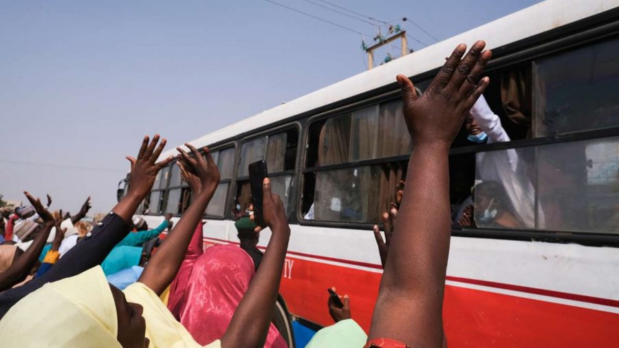 Gov. Bello Receives 53 Abducted Passengers