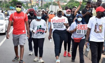 Court Orders CBN To Unfreeze #EndSARS Protesters' Bank Accounts