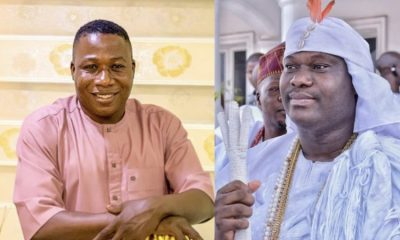 Sunday Igboho Begs Ooni Of Ife For Forgiveness
