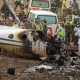Abuja Plane Crash: Residents Salute Late Pilot