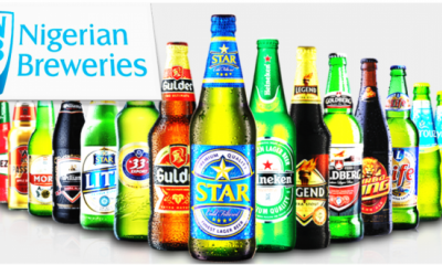 Nigerian Breweries Declares N337bn Revenue For 2020