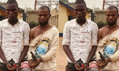Police Arrest Ex-Convicts Over Robbery