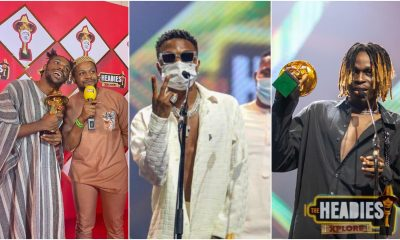 14th Headies Awards: Full List Of Winners