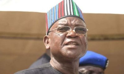 'My Attack Was Not Political' - Gov. Ortom