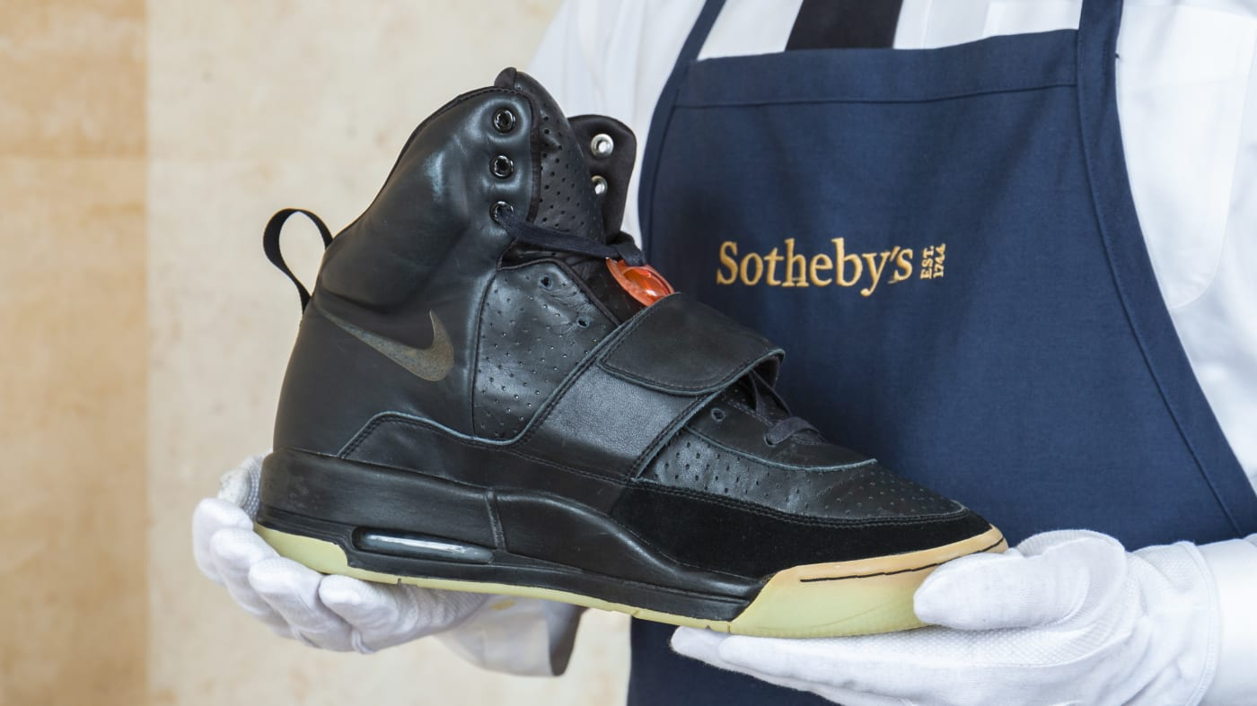 'Air Yeezy' Breaks Record Of $1.8 Million In Private Sale – Sotheby's