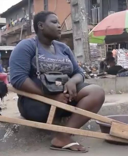 Amputee Hawker Handed Over To Her Community Leader - LASG