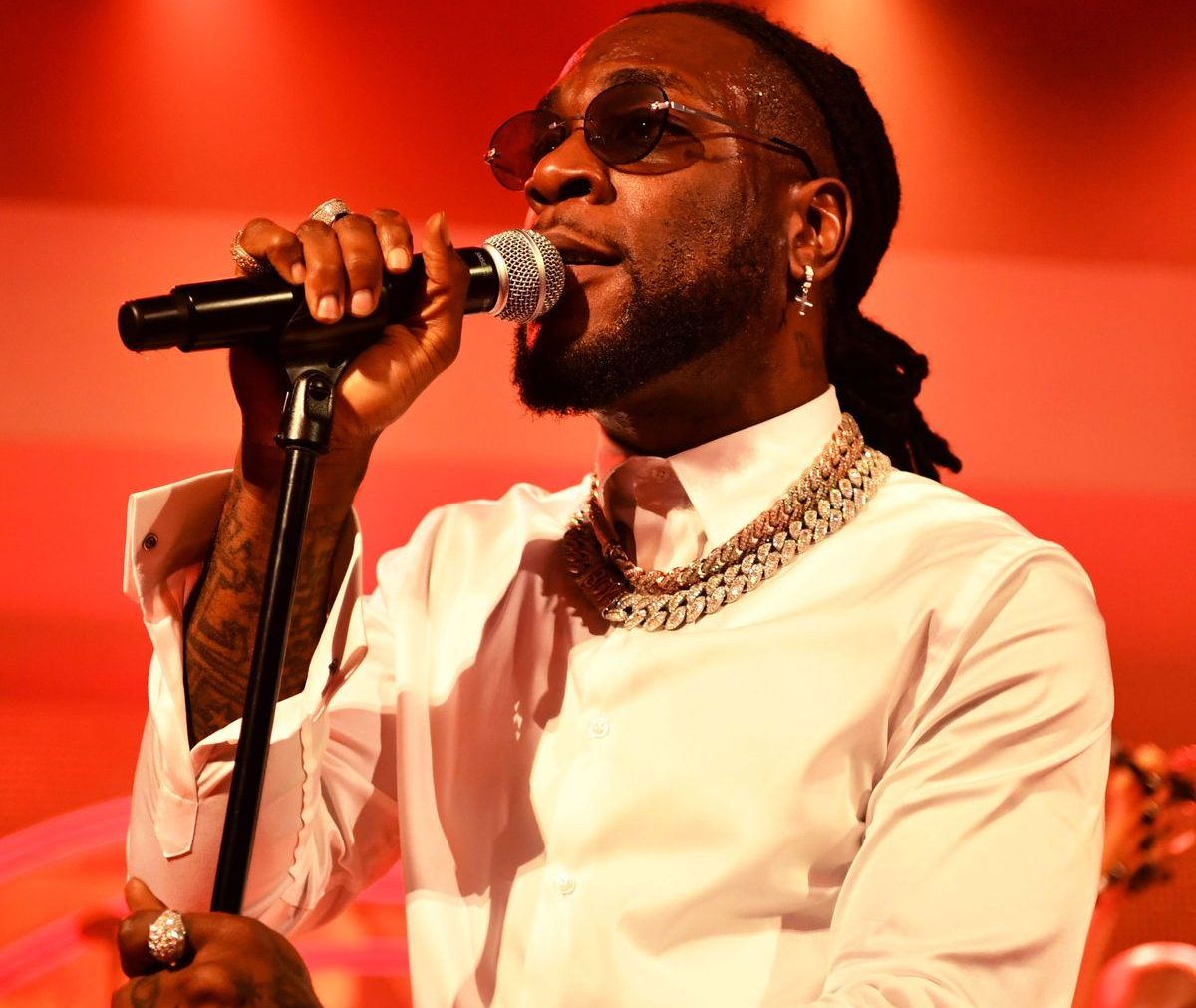 Burna Boy Gets Nomination For Int. Male Solo Artist At BRIT Awards