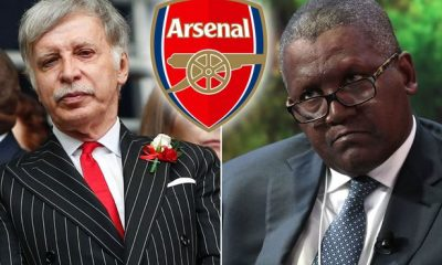 #KroenkeOut Trends As Arsenal Fans Want Dangote To Take Over Club