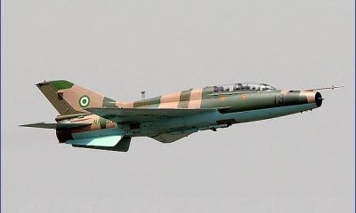 Nigerian Airforce Gives Report About Missing Alpha Jet