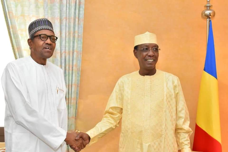 Idriss Déby: Buhari Saddened Over The Death Of Late President