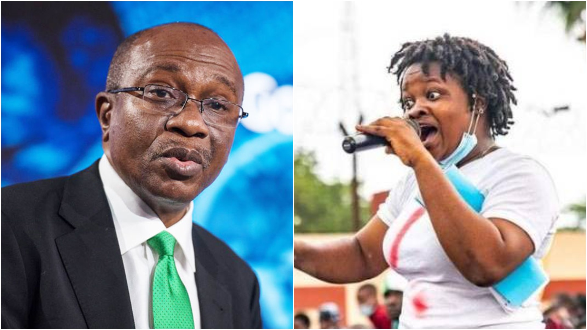 Rinu To Emefiele: Why Is Pantami's Account Not Frozen?