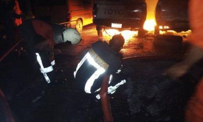 Another INEC Headquarters In Enugu State Engulfed In Flames