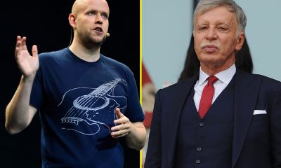 Arsenal's Owner Rejects Bid To Buy Club By Founder Of Spotify