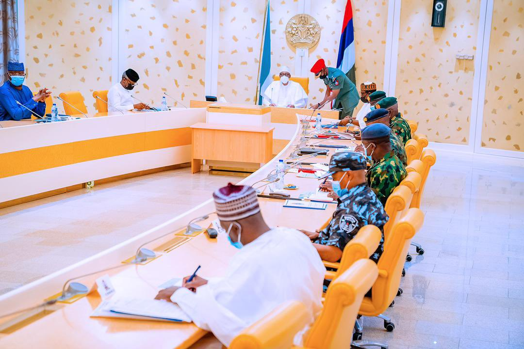 Buhari Conducts Second Security Meeting In 6 Days