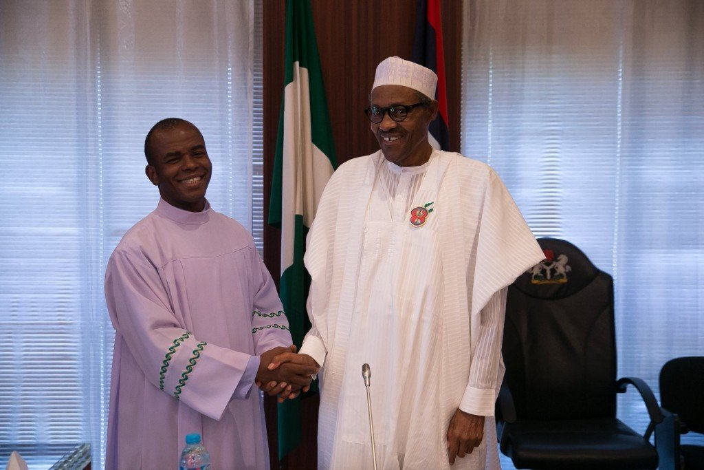 Mbaka: I Truly Met Buhari For Contract