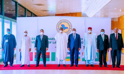 Rising Insecurity: Buhari Meets Other African Leaders