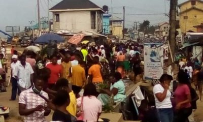 Panic In Port Harcourt As Explosion Rocks Market