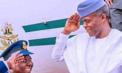Osinbajo Represents Nigeria At Uganda For Museveni's Inauguration