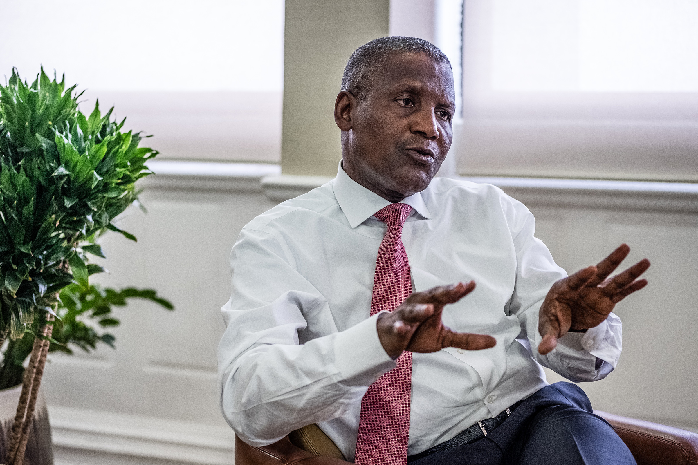 FACT CHECK: Dangote Never Promised To Transfer His Asset To US