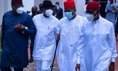 [BREAKING] Insecurity: Southern Governors ban open grazing, ask Buhari to address nation