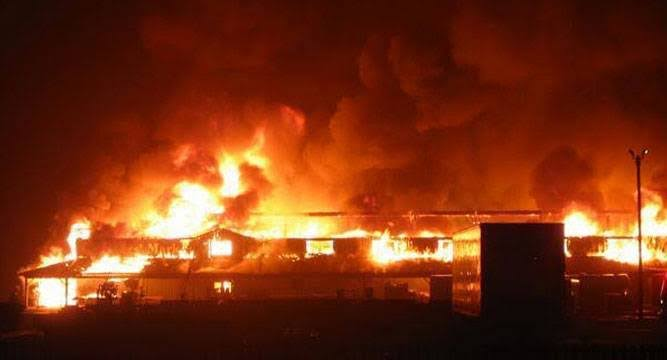 Immigration Office Set Ablaze By Gunmen In Abia State
