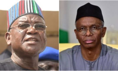 Ortom Fires Back At El-Rufai, Calls Him A Sycophant