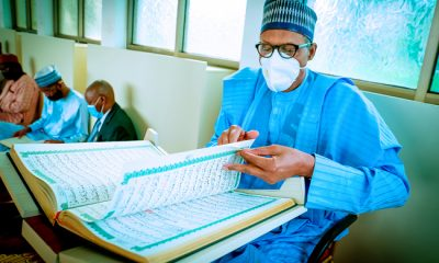 Buhari Joins Prayers For Unity, Peace as Muslims End Tafsir