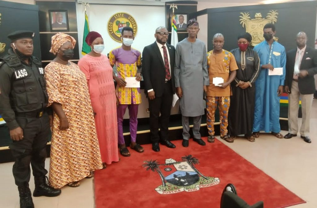 Sanwo-Olu Gives N10Mn Each To Bereaved Families Of Late Officers