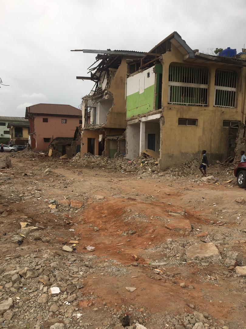 Fagba: Landlords, Traders React As LASG Continue Demolition