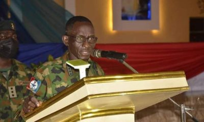Insecurity: General Irabor Meets With Retired Officers