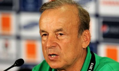 World Cup Qualifiers: Rohr Names Squad For Next Games