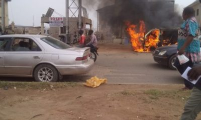 Residents Storm Police Station As Armed Robbers Kill Officer